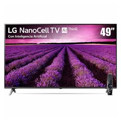 "Pantalla LG 49"" Nanocell TV AI ThinQ 4K 49SM8000 - Sanborns"