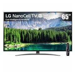 "Pantalla 65"" LG NanoCell TV AI ThinQ 4K 65SM8600PUA - Sanborns"