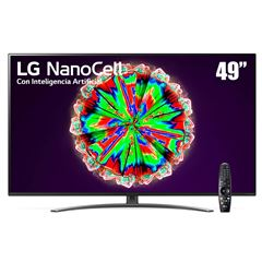 "Pantalla LG NanoCell TV AI ThinQ 4K 49"" 49NANO81UNA - Sanborns"