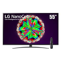 "Pantalla LG NanoCell TV AI ThinQ 4K 55"" 55NANO81UNA - Sanborns"