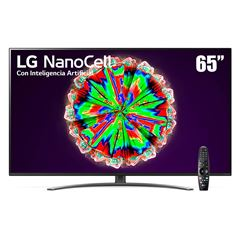 "Pantalla LG NanoCell TV AI ThinQ 4K 65"" 65NANO81UNA - Sanborns"