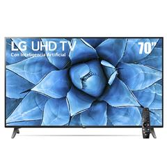 "Pantalla LG UHD TV AI ThinQ 4K 70"" 70UN7370PUC - Sanborns"