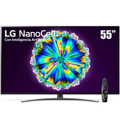 "Pantalla LG NanoCell TV AI ThinQ 4K 55"" 55NANO86UNA - Sanborns"