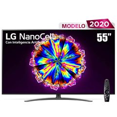 "Pantalla LG NanoCell TV AI ThinQ 4K 55"" 55NANO91UNA - Sanborns"