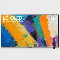 "Pantalla LG OLED TV AI ThinQ 4K 77"" OLED77GXPUA - Sanborns"