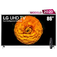"Pantalla LG UHD TV AI ThinQ 4K 86"" 86UN8570PUB - Sanborns"