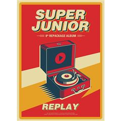CD Super Junior Replay - Sanborns