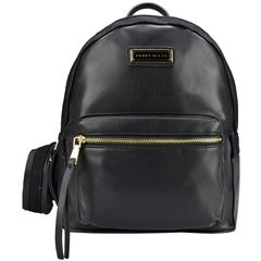 Bolso back pack  Perry Ellis negro a01603 - Sanborns