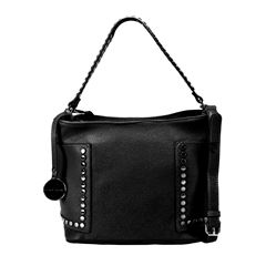 Bolso Hobo Perry Ellis Negro - Sanborns