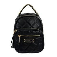 Bolso Back Pack Perry Ellis Color Negro Modelo A01916 - Sanborns