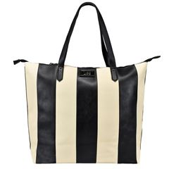 Bolso Tote Lee Color Ivory/Negro Modelo A01967 - Sanborns
