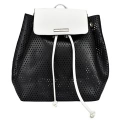 Backpack negro con blanco Lee - Sanborns