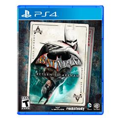 PS4 Batman Return to Arkham - Sanborns