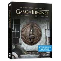 Steelbook Game Of Thrones Temporada 8 - Sanborns