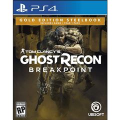 PS4 Ghost Recon Breakpoint Steelbook - Sanborns