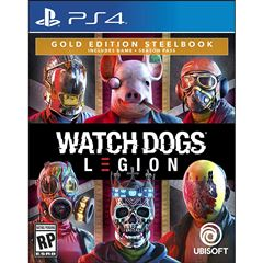 Preventa PS4 Watch Dogs Legion Steelbook - Sanborns
