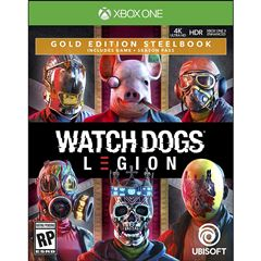 Preventa Xbox One Watch Dogs Legion Steelbook - Sanborns