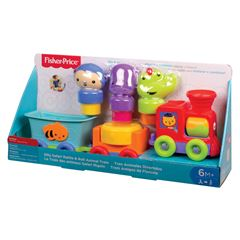 Silly Safari Tren Animales Dive Fisher Price - Sanborns