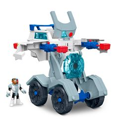 Fisher Price Imaginext Vehículo Transformable de Cyborg - Sanborns