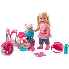 Muñeca Paseo en Bici Mattel Little Mommy - Sanborns