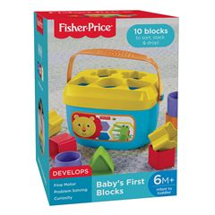 Primeros bloques del Bebé Fisher Price - Sanborns