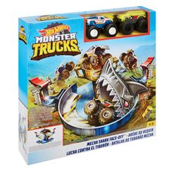 Hot Wheels Monster Trucks Lucha contra el Tiburón - Sanborns