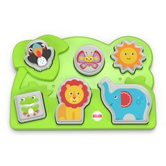 Fisher-Price Infant Juguete para Bebés Rompecabezas Animalitos de la Selva - Sanborns