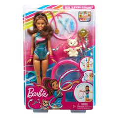 Muñeca Barbie Gimnasta Dreamhouse Adventures - Sanborns