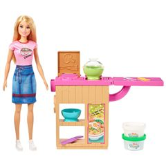 Barbie Careers Muñeca Chef Fideos - Sanborns