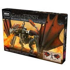 Mega Construx™ Game of Thrones Daenerys y Drogon - Sanborns
