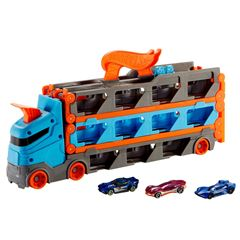 Hot Wheels City Remolque Pista de Carreras - Sanborns