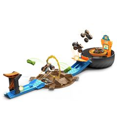 Hot Wheels Monster Trucks Llanta de Acrobacias - Sanborns