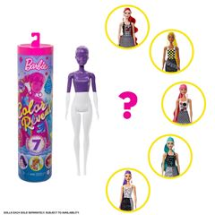 Barbie Fashionista, Color Reveal Colores - Sanborns