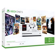 Consola Xbox One S de 1TB + Live Gold + Game Pass - Sanborns