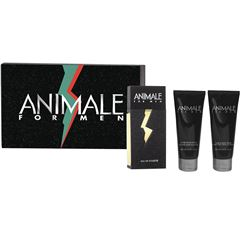 Set Animale de 3 piezas EDT 100 ml + After Shave 100 ml + Hair & Body Wash 100 ml - Sanborns