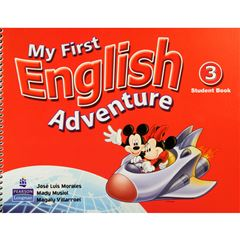 My First English Adventure 3 Sb (Version Americana) - Sanborns