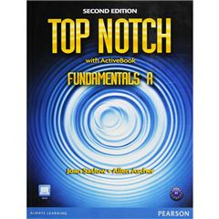 Top Notch Fundamentals Wb Split A With Super Self Study Cd-R - Sanborns