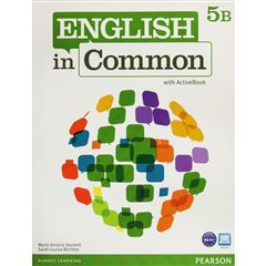 English In Common 5B Sb And Wb With Active Book - Sanborns