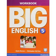 Big English 5 Wb With Audio Cd - Sanborns