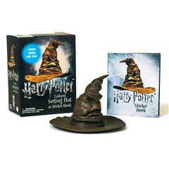Harry Potter Talking Sorting Hat and Sticker Book: Which House Are You? - Sanborns