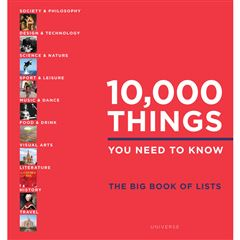 10,000 Things You Need to Know: The Big Book of Lists - Sanborns