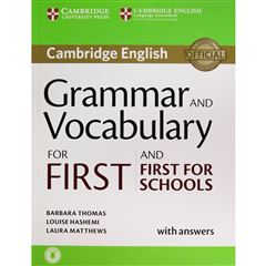 Grammar And Vocabulary For First And First For Schools - Sanborns