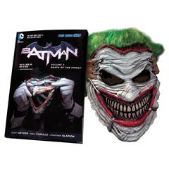 Batman: Death of the Family Mask and Book Set - Sanborns