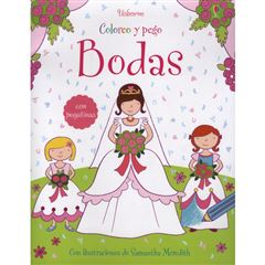 Bodas. Coloreo y pego - Sanborns