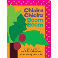 Chicka Chicka Boom Boom (Board Book) - Sanborns