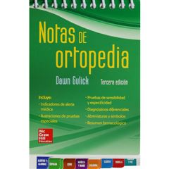 Notas De Ortopedia - Sanborns