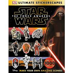 Ultimate Sticker Collection: Star Wars: The Force Awakens Stickerscapes - Sanborns
