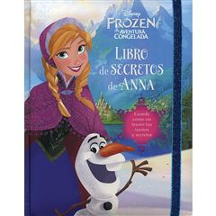 Libro de Secretos Big Disney Frozen Anna - Sanborns