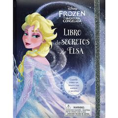 Libro de Secretos Big  Disney Frozen Elsa - Sanborns