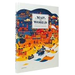 A Map of the World: The World According to Illustrators and Storytellers - Sanborns